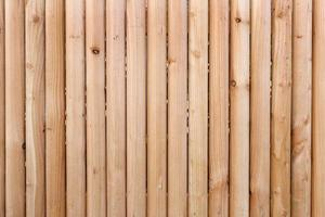cerca de madeira, pode ser usado como plano de fundo foto