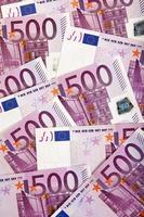 fundo de moeda europeia foto