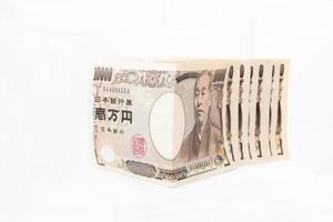 moeda japonesa foto