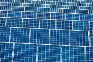 Planta de energia solar foto