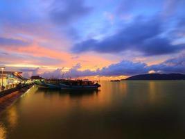 barcos de pescador foto