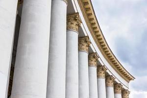 pilares de pedra foto