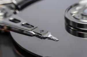 disco rígido do disco rígido interno closeup foto