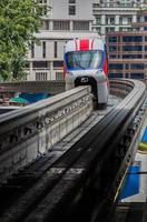 trem monotrilho de transporte