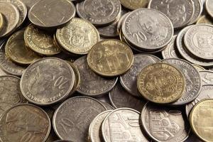 moedas sérvias foto