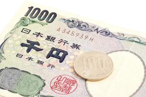 10% de imposto sobre vendas em moeda japonesa foto