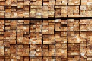 material de construção de madeira para fundo e textura. foto