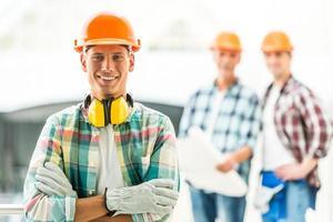 indústria de construção foto