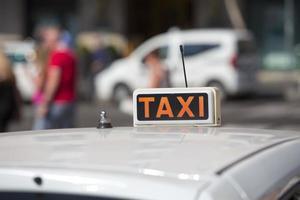 Táxi foto