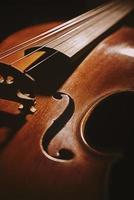 violino velho foto