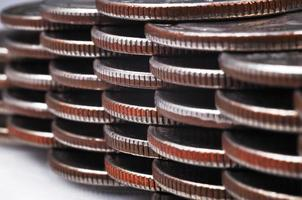 moedas americanas foto