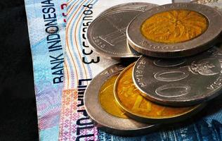 moeda indonésia foto