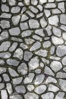 superfície de pedra de calçada para planos de fundo foto
