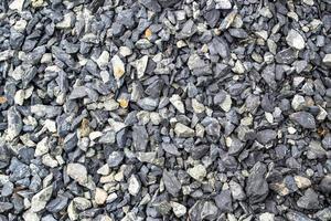 pedra britada foto