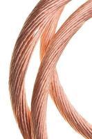 indústria de fio de cobre vermelho foto