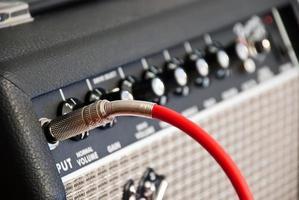 amplificador de guitarra foto