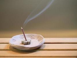 incenso japonês foto