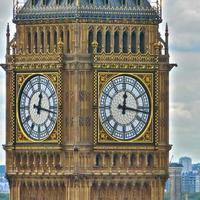 londres, casas grandes do parlamento foto
