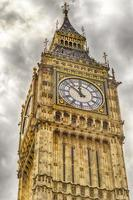 o big ben, casas do parlamento, londres foto