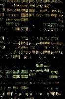 iluminação do distrito comercial