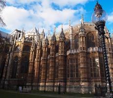 abadia de westminster, londres, reino unido foto