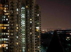 varanda vista do prédio foto