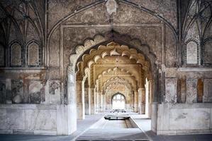 belo palácio indiano em Nova Deli