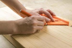 ferramentas para trabalhar madeira foto