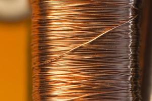 motor elétrico interno de cobre foto