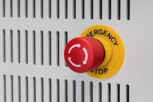 parada de emergência