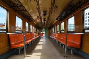 cabine do trem tailandês foto