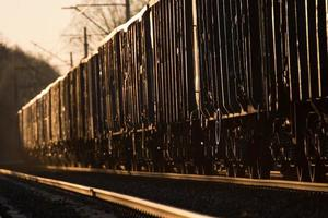 trem de carga foto
