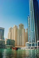 golfo em dubai marina, emirados árabes unidos