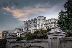 """""""Casa do povo"""", sede do parlamento romeno foto"""