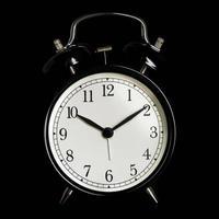 despertador preto foto