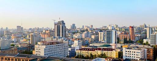 skyline de kyiv, ucrânia