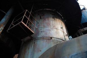 fábrica de aço abandonada