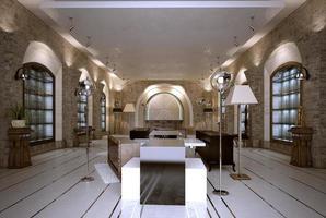 loja interior estilo art-deco