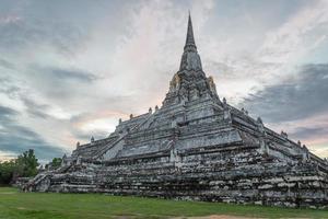 pagode antigo de buda foto