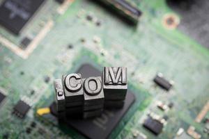 internet www. ícone do design do site e .com foto