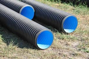 tubos de PVC foto