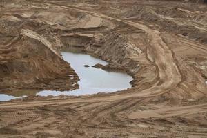 mineração de areia