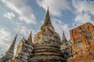 pagode antigo em ayuthaya, Tailândia foto