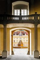 interior de uma abadia foto