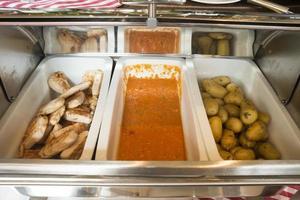 bar de saladas self-service foto
