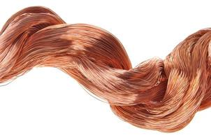 fios de cobre foto