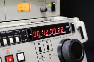 gravador de vídeo profissional foto