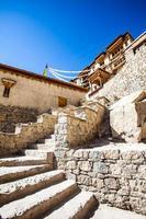 mosteiro, shey, ladakh, índia