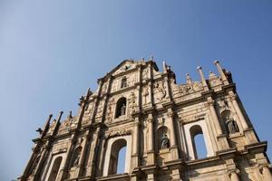ruínas de st. Paulo foto