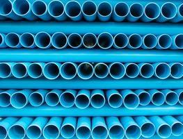 tubo de água de pvc foto